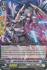 1x Cardfight!! Vanguard Lady Keeper of Virtual Reality - G-TD05/011EN - TD Near