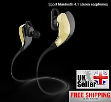 STEREO Wireless Bluetooth v4.1 Calling Music Headset With Mic for Phones/Laptops