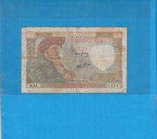 50 Francs JACQUES  COEUR du 15-5-1941 X.84