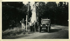 PHOTO ANCIENNE - VINTAGE SNAPSHOT - VOITURE TACOT AUTOMOBILE DRÔLE - OLD CAR FUN