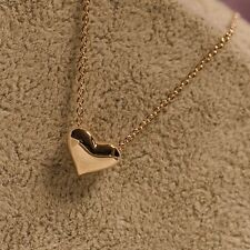 Women Elegant Gift Tiny Little Love Heart Pendant Necklace Chain Girls Jewelry