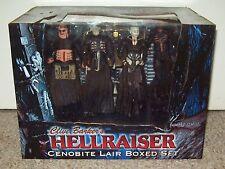 Hellraiser 2005 Cenobite Lair Box Set Neca Figure Pinhead Chatterer Clive Barker