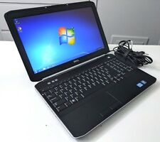 "Dell Latitude E5520 I5-2410 2.3GHz 4GB 240GB Win7Pro 15.6"" DVDCDRW PR07"