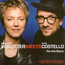 CD single Costello Elvis & Anne Sofie Von Otter / ABBA PROMO 3-TRACK CARD SLEEVE