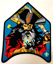 NORTH FLORIDA 2010 SCOUT JAMBOREE OA 200 JACKET PATCH PIRATE 2017 GLOWS IN DARK