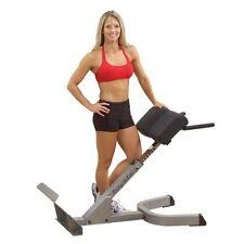 Rückenstrecker 45° von Body Solid, Gesäßtrainer, Hyperextension, Profi Fitness