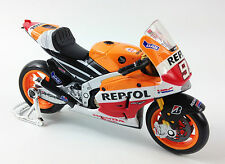 MARC MARQUEZ FACTORY REPSOL HONDA MOTO GP Die-Cast Toy Model Bike Maisto 1:18