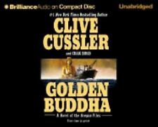 Golden Buddha by Clive Cussler Unabridged CD Audiobook Clive Cussler Books-Good
