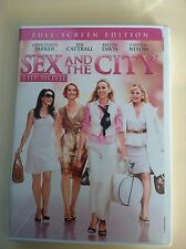 Like New SEX and the CITY The Movie DVD - FULL SCREEN EDITON - Watched once