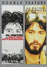 Dog Day Afternoon / Serpico (DVD, Double Feature) SHIPS NEXT DAY Al Pacino