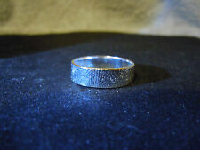 NEW PURE SILVER .999 BULLION SZ101/4 MENS RING MADE BY ANARCHY PM JEWELRY #D999