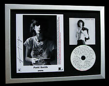 PATTI SMITH+SIGNED+FRAMED+HORSES+NIGHT+GLORIA=100% AUTHENTIC+EXPRESS GLOBAL SHIP