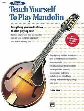 Alfred's Teach Yourself to Play Mandolin: Everything You Need to Know to Start P