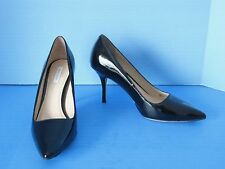 New Womens Cole Haan Classic Bradshaw .85 Black Patent Leather Pumps, Size 7.5 C
