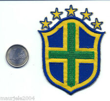Toppe Stemma Brasile 5 stelle FIFA World Cup Football Patch Brazil 5 Stars 9x6,7
