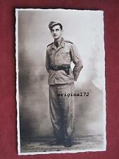 Original Portrait Foto DAK-Afrika Soldat in Uniform 2.WK