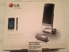 LG Crystal GD900 Crystal - Silver (Unlocked) Mobile Phone brand new,ultra rare