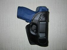 S&W - M&P SHIELD WITH  RED CT LASER 9MM & 40 CAL.,FORMED IWB holster, right hand