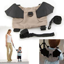 Baby Kids Toddler Bat Walking Safety Harness Rein Backpack Walker Buddy Strap