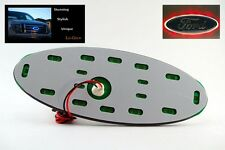 "Red LED Lo-glow light Assessory for your 7"" Wide Ford Emblem Badge"