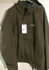 NWT Men's MARMOT Minimalist GORE-TEX XL WATERPROOF JACKET Deep Olive OD Green