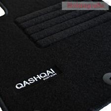 Velours Fußmatten Edition Logo 6-teilig für Nissan Qashqai +2 ab Bj.10/2008 -