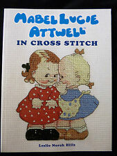 Mabel Lucie Attwell in Cross Stitch by Leslie Norah Hills - 24 Projects