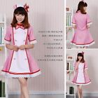Hot Sell !Hatsune Miku Vocaloid 2 Cosplay pink nurse Costume, Cos party Costume
