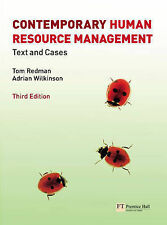 Contemporary Human Resource Management: Text and Cases by Tom Redman, Adrian...