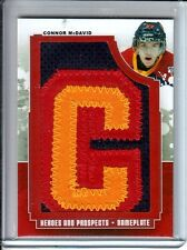 2012-13 ITG Heroes and Prospects CONNOR McDAVID #NPL18 Nameplates PATCH 'C' 1/1