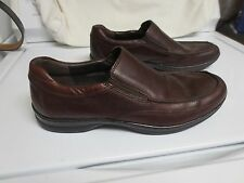 Nice! Born Dark Brown Leather Men's 10 1/2 Slip On Dress Casual Loafers Shoes