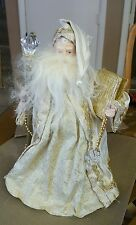Large Santa Claus Tree Topper or Table Mantle Christmas Display Decoration