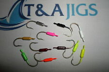 25 1/16 oz YELLOWTAIL SNAPPER JIGS  Saltwater  Hooks Lot of 25 Mixed Colors