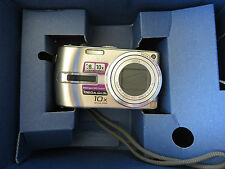 Panasonic LUMIX DMC-TZ2 6.0 MP 10X optical zoom silver digital camera In Box!