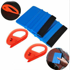 4x Car Wrapping Tool Snitty Safety Vinyl Cutter Film Sticker Felt Edge Squeegee