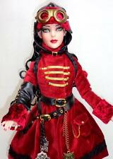 "Imperium Park Steampunk AIR SHIP ESCAPE THEA 16"" Doll Ellowyne Wilde Tonner EUC"