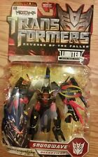 Transformers rotf Chara hobby deluxe  soundwave mosc super rare!US seller!