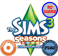 The Sims 3 Seasons Expansion Pack (PC&Mac, 2012) Origin Download Region Free