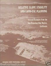 Geology Slope Stability and Land-Use Planning Study Rare 1979 SF Bay Region