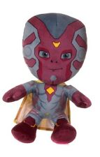 "BRAND NEW 12"" MARVEL PLUSH SOFT TOY VISION CHARACTER SUPERHERO"