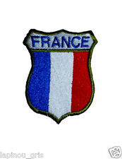 Ecusson blason patch France brodé airsoft paintball original thermocollant