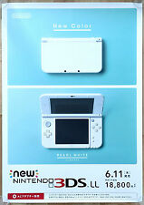 New Nintendo 3DS RARE Point of Sale 51.5 cm x 73 Japanese Promo Poster