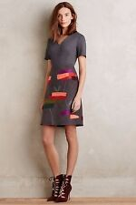 NWT ANTHROPOLOGIE by RAOUL MADE IN KIND EMBROIDERED SOLILOQUY DRESS 2