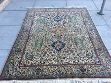 AUTHENTIC VINTAGE TURKISH KEYSARI ORIENTAL RUG TREE OF LIFE DESIGN