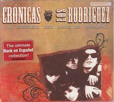 Los Rodriguez Cronicas La Historia Del Rock En Espanol CD New Nuevo Sealed