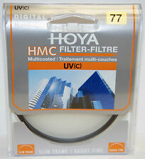 Hoya 77mm Slim Frame Digital HMC Multicoated UV(C) 77 mm Filter for Camera lens