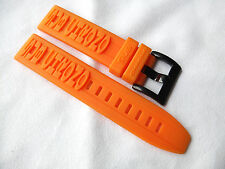 Original SUB CHRONO Rubber Watch Band Strap 22mm neu perfekt für Seiko SKX Diver