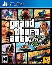 GRAND THEFT AUTO V * PLAYSTATION 4 * BRAND NEW FACTORY SEALED!