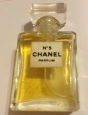 CHANEL No 5 Pure Perfume / Parfum Splash NEW - Miniature 3.5 ml/ 0.12oz - Rare!