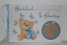 Gästebuch Geburtstag  Kindergeburtstag Babybuch Geschenk